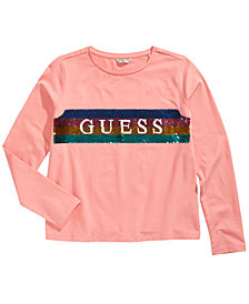 GUESS Big Girls Flip Sequins T-Shirt