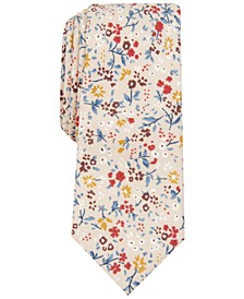 Men's Lassen Skinny Floral Tie, Created For Macy's