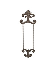 Acanthus Leaf Collection Metal Hanging Dinner Plate Wall Hanger
