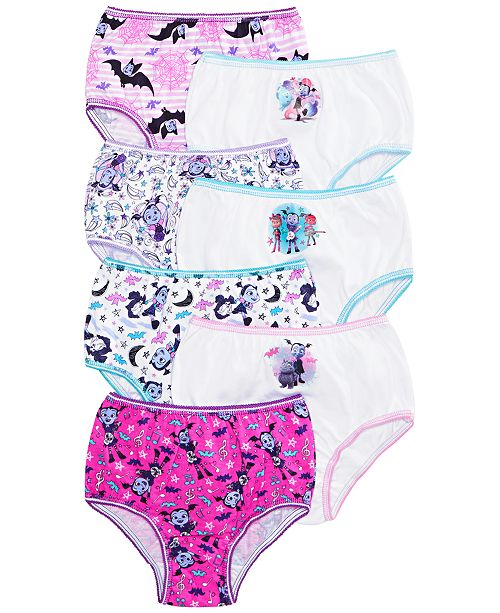 Vampirina Toddler Girls 7-Pk. Cotton Underwear