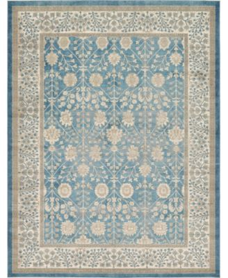 Bellmere Bel3 Light Blue 9' x 12' Area Rug