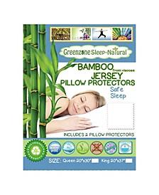 Bamboo Jersey Pillow Protector- 2 Piece