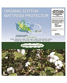 Organic Cotton Queen Mattress Protector
