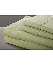 6 Piece Microfiber Sheet Set, King