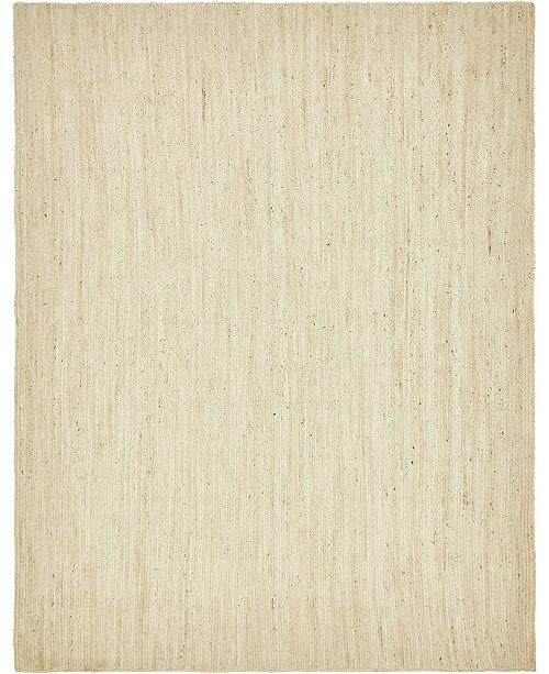 Bridgeport Home Braided Jute B Bjb5 Beige Area Rug Collection