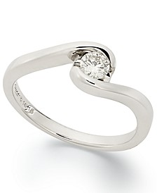 Diamond Engagement Ring in 14k White Gold (1/5 ct. t.w.)