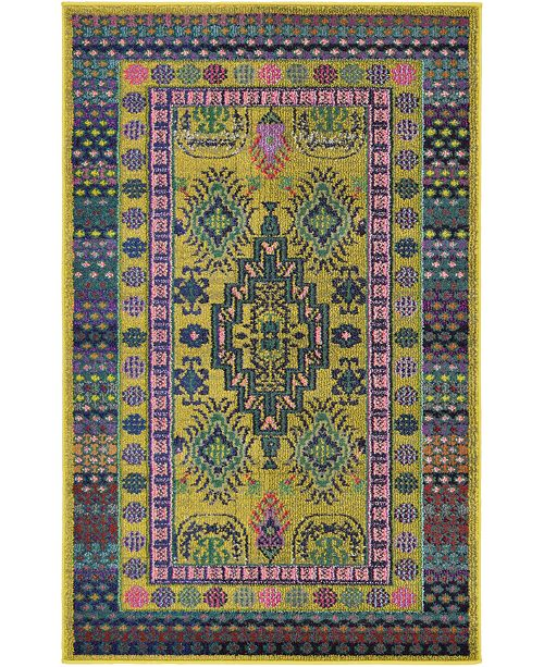Bridgeport Home Sana San2 Gold Area Rug Collection