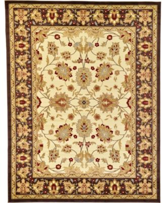 Passage Psg3 Ivory 4' x 4' Square Area Rug