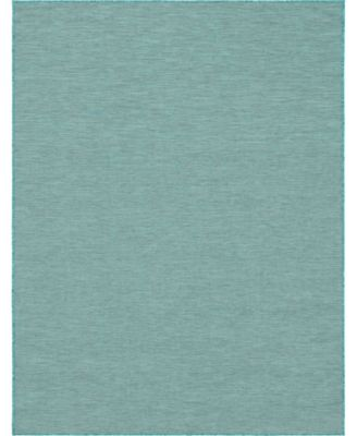 Pashio Pas8 Turquoise 2' x 6' Runner Area Rug