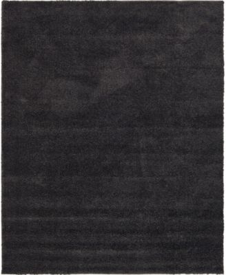 Uno Uno1 Charcoal 6' x 6' Round Area Rug