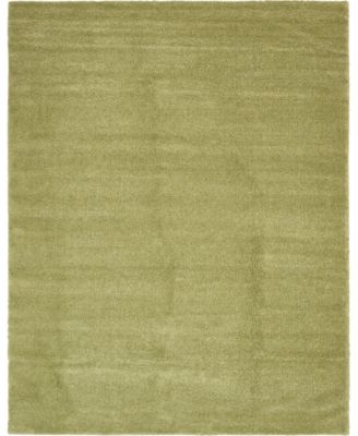 Uno Uno1 Light Green 8' x 10' Area Rug