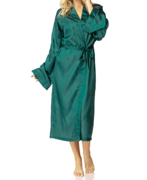Vintage Nightgowns, Pajamas, Baby Dolls, Robes Honey Minx Hummingbird Kimono Wrap Robe Online Only $78.00 AT vintagedancer.com