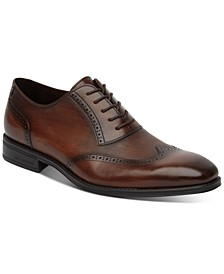 Men's Micah Lace-Up Wingtip Dress Shoes