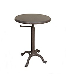Eileen Adjustable Vintage Table, Quick Ship