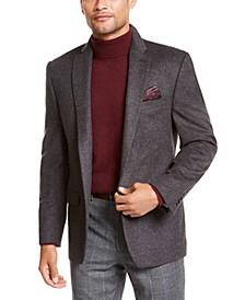 Wool/Cashmere-Blend Classic-Fit Sport Coat