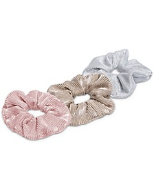 3-Pc. Metallic Scrunchie Set