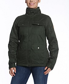 Rider Faux-Fur Sherpa-Lined Anorak Jacket