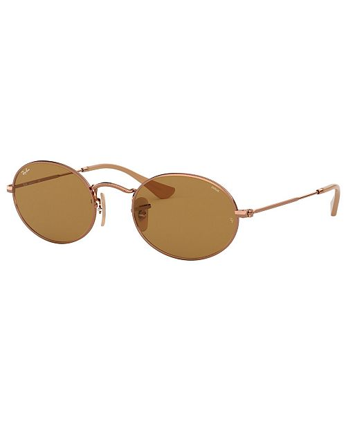 Ray-Ban OVAL Sunglasses, RB3547N 54