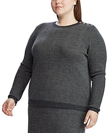 Plus Size Merino-Wool Sweater