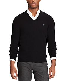 Men's Big & Tall Washable Merino Wool Sweater