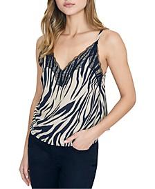 Perfect Match Lace-Trim Camisole