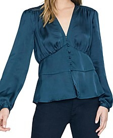 Favorite Romance Satin Top