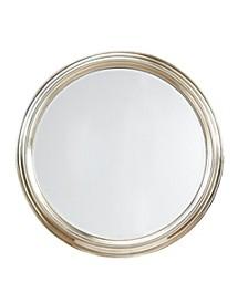 Martha Stewart Spruce Round Accent Mirror