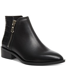 Women's Hickory Leather Booties