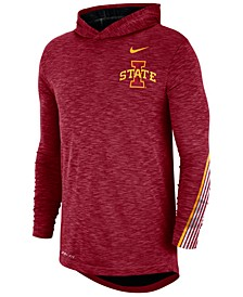 Men's Iowa State Cyclones Hooded Sideline Long Sleeve T-Shirt