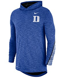Men's Duke Blue Devils Hooded Sideline Long Sleeve T-Shirt