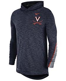 Men's Virginia Cavaliers Hooded Sideline Long Sleeve T-Shirt