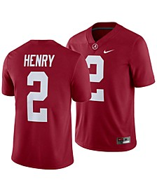 Men's Derrick Henry Alabama Crimson Tide Player Game Jersey