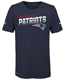 Big Boys New England Patriots Sideline T-Shirt