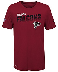 Big Boys Atlanta Falcons Sideline T-Shirt