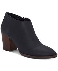 Lucky Brand Pamira Block-Heel Booties