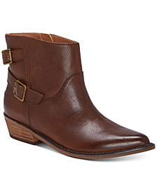 Lucky Brand Women's Caelyn Leather Booties