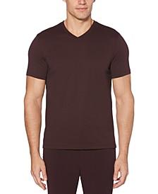 Men's Big & Tall Performance Stretch Moisture-Wicking V-Neck T-Shirt