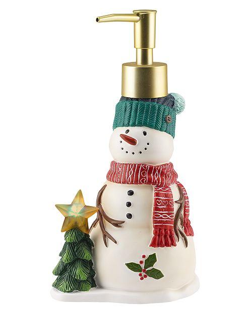 Mr. Christmas Snowman Light-Up Lotion Pump