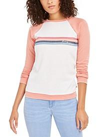 Juniors' Colorblocked Logo Sweatshirt