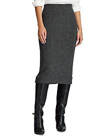 Lauren Ralph Lauren Merino Wool Knit Skirt