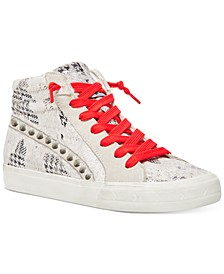 Women's Kenzie Star High-Top Sneakers
