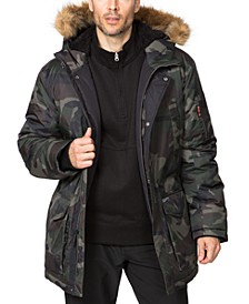 Outfitter Men's Logan Faux-Fur-Trim Parka