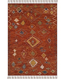 Nahla LRL7545A Currant  Area Rug Collection