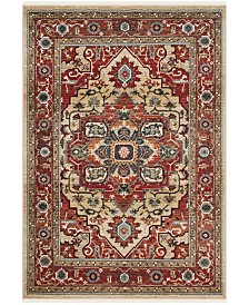 Quentin LRL1298C Red and Beige Area Rug Collection