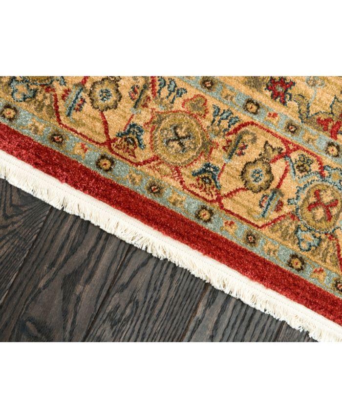 Bridgeport Home Harik Har9 Red Area Rug Collection & Reviews - Rugs - Macy's