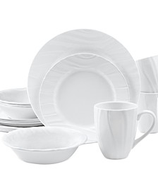 Boutique Swept Embossed 16-Pc. Set, Service for 4
