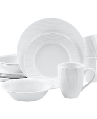 Corelle Boutique Swept Embossed 16 Pc. Set, Service For 4