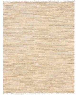 Jari Striped Jar1 Tan 2' 7