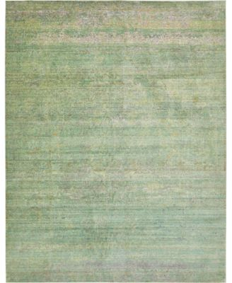 Malin Mal8 Green 8' x 8' Square Area Rug