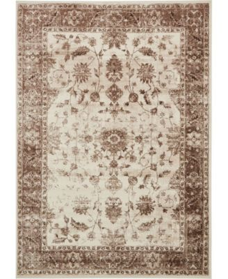 Marshall Mar2 Ivory 8' x 8' Square Area Rug